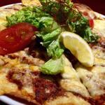 トプカプ - トルコのピザ「ラフマージュン」