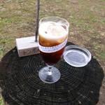 とき川の小物屋さん - 水出しアイスコーヒー。