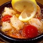 トプカプ - 海老のガーリックオイル焼き