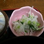 とんかつ藤よし - 漬物【料理】
