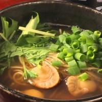 貝と海老そして蟹 - 貝の旨味たっぷり!しじみらーめん 700円