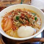 中華そば de 小松 - 加里坦々麺