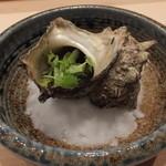 すし屋の中川 - サザエのつぼ焼き