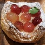 Rcafe - ぶどうのデニッシュ:216円