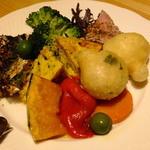 スクオーレ - ナポリの前菜盛り合わせ(小)('15.11月)