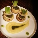 喃喃 - 小蕪と海老のブルゴーニュバター