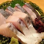 力鮨 - シメサバ刺身