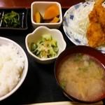 瑞穂 - 料理写真:あじフライ定食 700円