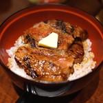 赤坂 津つ井 - 特味彩セット (名物ミニビフテキ丼)