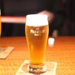 赤坂 津つ井 - 生ビール
