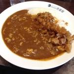 CoCo壱番屋 - H.27.11.17.昼 ポークカレー+豚しゃぶ+納豆+5辛+300g=959円