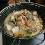 昇仙峡ほうとう会館 - きのこほうとう鍋