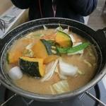 昇仙峡ほうとう会館 - かぼちゃほうとう鍋