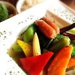 お肉とワイン 関内ビストロ ZIP - 季節野菜10種たっぷりポトフ