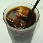 カフェバーバー 床茶 - アイス珈琲(無糖) 450円