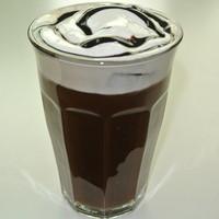 カフェバーバー 床茶 - アイスカフェショコラ 540円