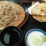 Nousonresutorandekinosato - 天ぷらそば大盛り