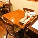 ラコンチャ - テーブル席