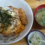 せきの - カツ丼980円