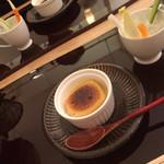 料理 吉祥寺 わるつ - ゴマ豆腐とバーニャカウダ