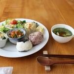 ツキカフェ - 料理写真:ツキカフェプレート(850円)