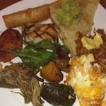 44568849 - 春巻き、お肉、カニコロッケ、トルティーヤ、アメリカンなお惣菜♪