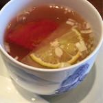 44569069 - お粥セットのスープ