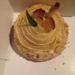 ナチュール - 料理写真:安納芋とリンゴのパイタルト