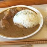 エイケイコーナー - いつも美味しい日替わりカレー 今日はマッサマンカレー\(^o^)/