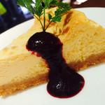 NZ産ベイクドレアチーズケーキ