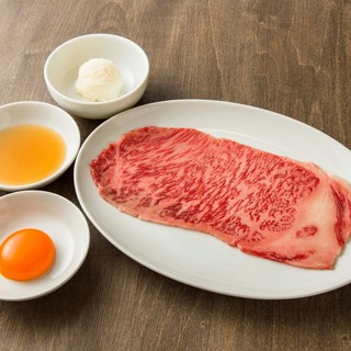国産A5黒毛和牛の焼肉で楽しいひと時を。