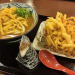 44578701 - カレーうどん(大)+野菜掻揚げ+しぐれ煮