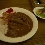 カフェレストラン アド - エビフライカレー(サラダ付き)850円+税