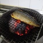CAMPS - 鯖の燻製を紀州備長炭で!