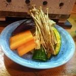 焼肉ハウス大将軍 - 野菜盛り合わせ