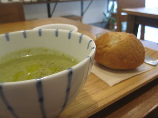 ポタージュ - つる紫のスープ