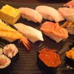 朝日寿司 総本店 - 特選にぎり