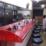 中華料理 興隆 - 中華料理 興隆 @ときわ台 以前のお店とほとんど変わらない店内