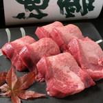 まんまや 和坐 - 旨味たっぷり肉厚の牛タンです!お好みの焼き加減でどうぞ。