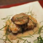 食工房 ひろさき - 蛤とタラの白子