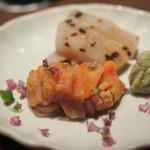 食工房 ひろさき - タイラギと赤貝。