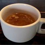 44584046 - 日替わりランチのスープ