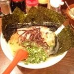 麺や亮 - 元味+焼きのり…630円+100円=税込730円
