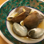 鮨 さるたひこ - ツブ貝とながらみ