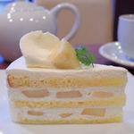 44586041 - 洋梨のショートケーキ