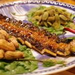 月 - 天然鰻の蒲焼き