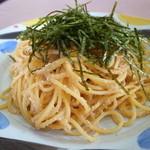 れんげ草 - たらこスパゲッティーです