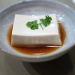 かぐら坂 志満金 - 湯葉豆腐