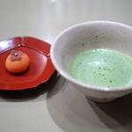 かぐら坂 志満金 - 抹茶と和菓子が付きます