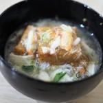 AKOMEYA厨房 - 蓮根餅の蟹餡掛け